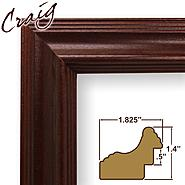 "Craig Frames Inc 21x35 Custom 1.825"" Wide Complete Cherry Wood Picture Frame (262CH) at Kmart.com"