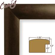 "Craig Frames Inc 18x24 Complete 1.52"" Wide Brazilian Walnut Picture Frame (FM58WA) at Kmart.com"
