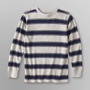 Basic Editions Boy's Striped Thermal Shirt at Kmart.com