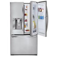 LG 31 cu. ft.  Door-In-Door French Door Bottom-Freezer Refrigerator - Stainless Steel at Sears.com