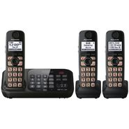 Panasonic Expandable Digital Cordless Answering System w/ 3 Handsets KX-TG4743B at Sears.com