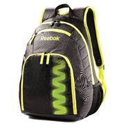 Reebok Z Series Small Backpack (Black/Charged Green) at Sears.com