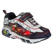 Disney Boy's Cars Lighted Athletic Shoe - White at Kmart.com