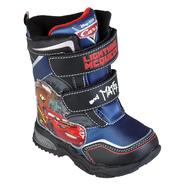 Disney Toddler Boy's Cars Winter Boot - Navy at Kmart.com