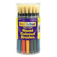 COLOSSAL BRUSH, NATURAL BRISTLE, ROUND, 30/SET at Sears.com