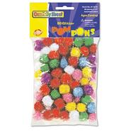 Creativity Street Glitter Pompons at Sears.com