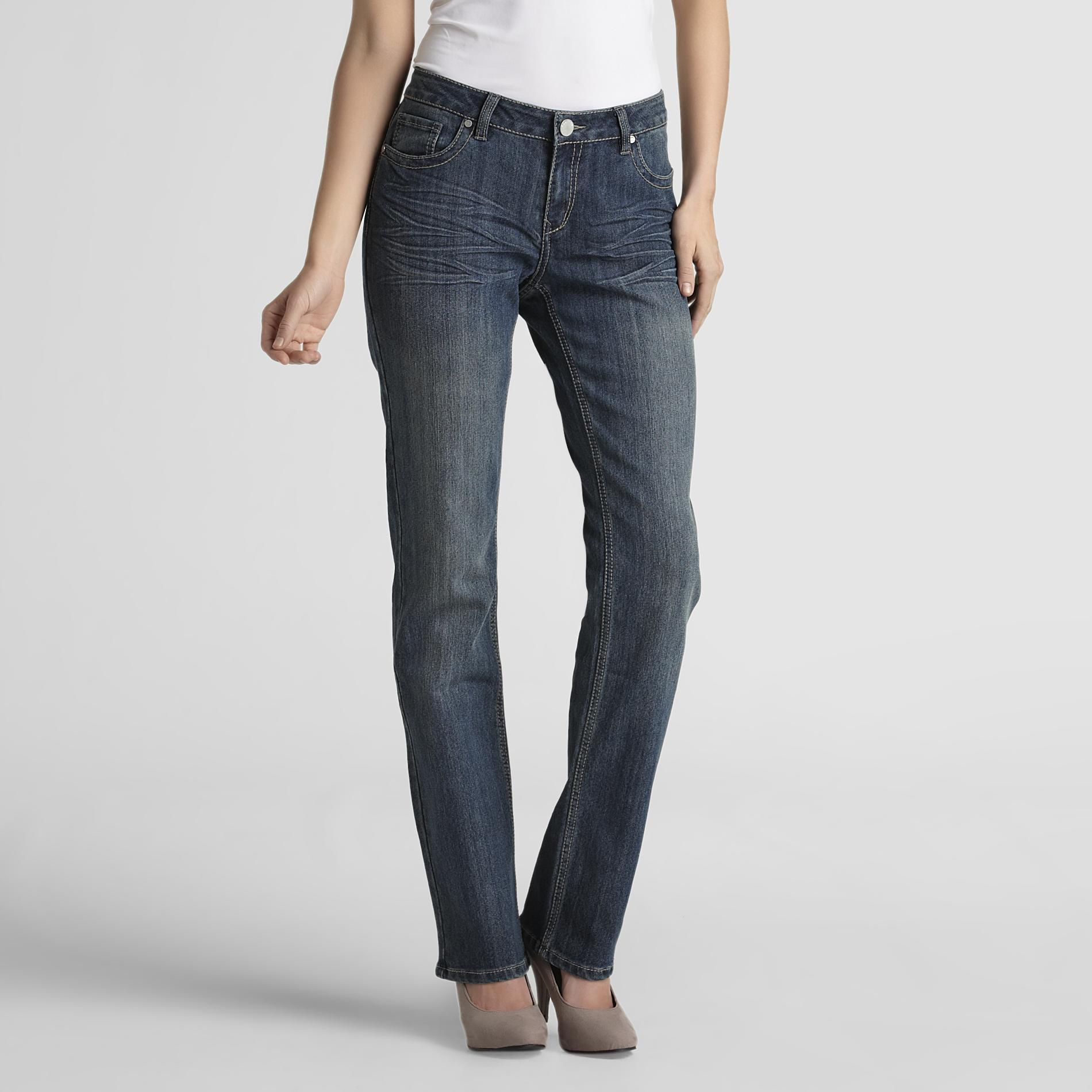 Route 66 Women's Straight Leg Jeans at Kmart.com