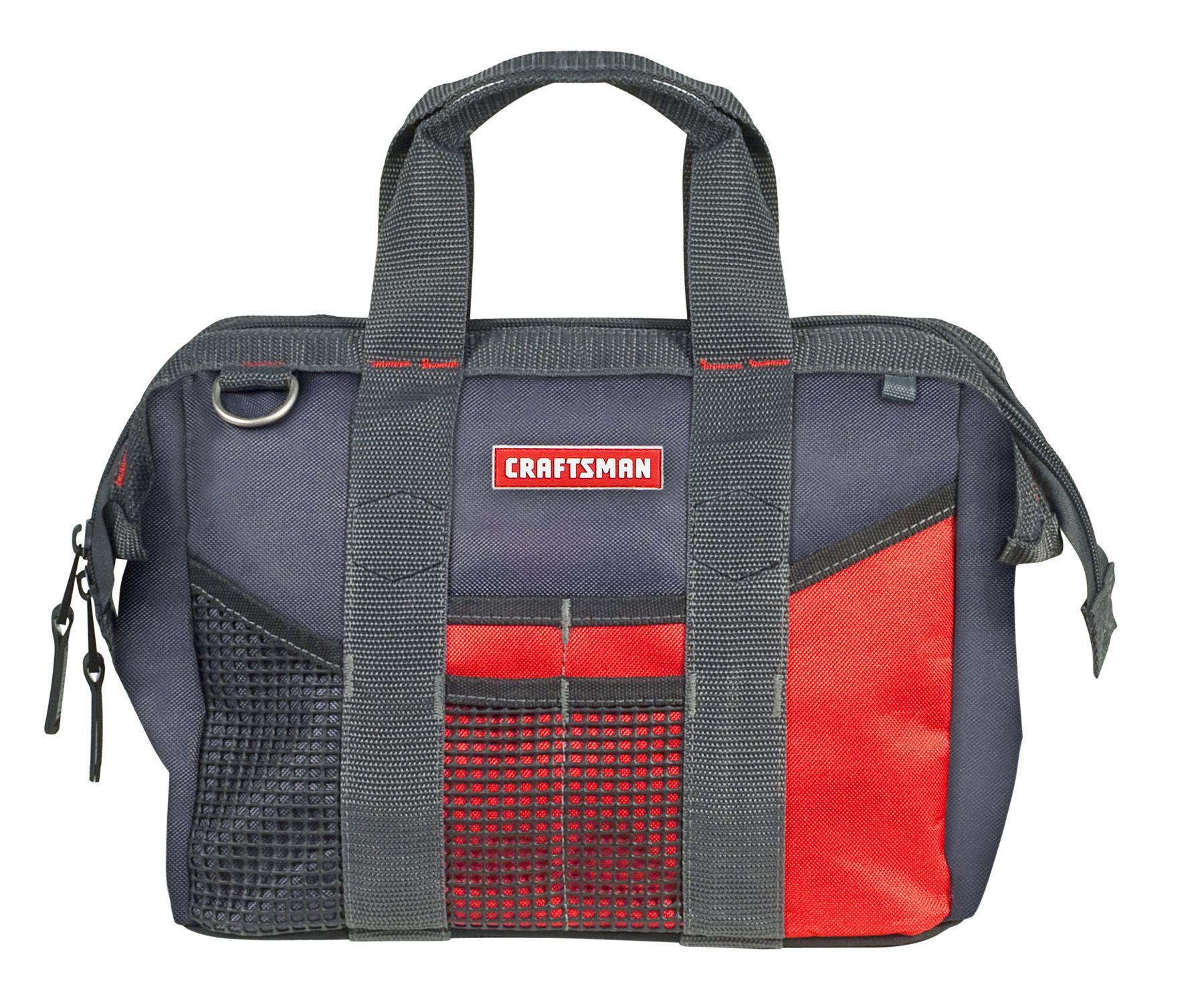 Craftsman Large Mouth Tool Bag - 12 inch