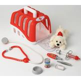 Theo Klein Vet Transport Crate with Dog at mygofer.com