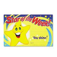 RECOGNITION AWARDS, STAR OF THE WEEK!, 8-1/2W X 5-1/2H, 30/PACK at Kmart.com