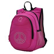 O3 USA Kids Pre-School All-In-One Backpack With Cooler - Bling Rhinestone Peace at Kmart.com