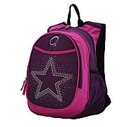 O3 USA Kids Pre-School All-In-One Backpack With Cooler - Bling Rhinestone Star at Kmart.com