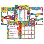 LEARNING CHART COMBO PACK, FURRY FRIENDS CLASSROOM BASICS, 17W X 22, 5/PACK at Sears.com