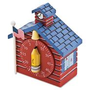 SHAPED TIMER, 3/4 X 2 X 3 1/2, RED SCHOOL HOUSE at Kmart.com
