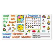 "MONTHLY CALENDAR (WITH CLING) BULLETIN BOARD SET, 22"" X 17"" at Sears.com"