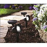 Coleman Cable SOLAR BLACK PLASTIC SPOTLIGHT at Kmart.com