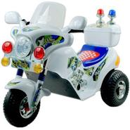 Lil' Rider Police Motorcycle Battery Operated - White at Kmart.com