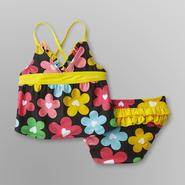 Joe Boxer Infant & Toddler Girl's Daisy Tankini at Kmart.com