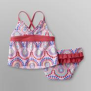 Joe Boxer Infant & Toddler Girl's Swirl Tankini at Kmart.com