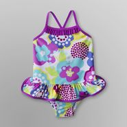 Joe Boxer Infant & Toddler Girl's Floral Swimsuit at Kmart.com