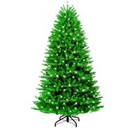 GE 7ft Just Cut Grand Fir Christmas Tree with Easy Shape Technology™ and Clear Lights at Kmart.com