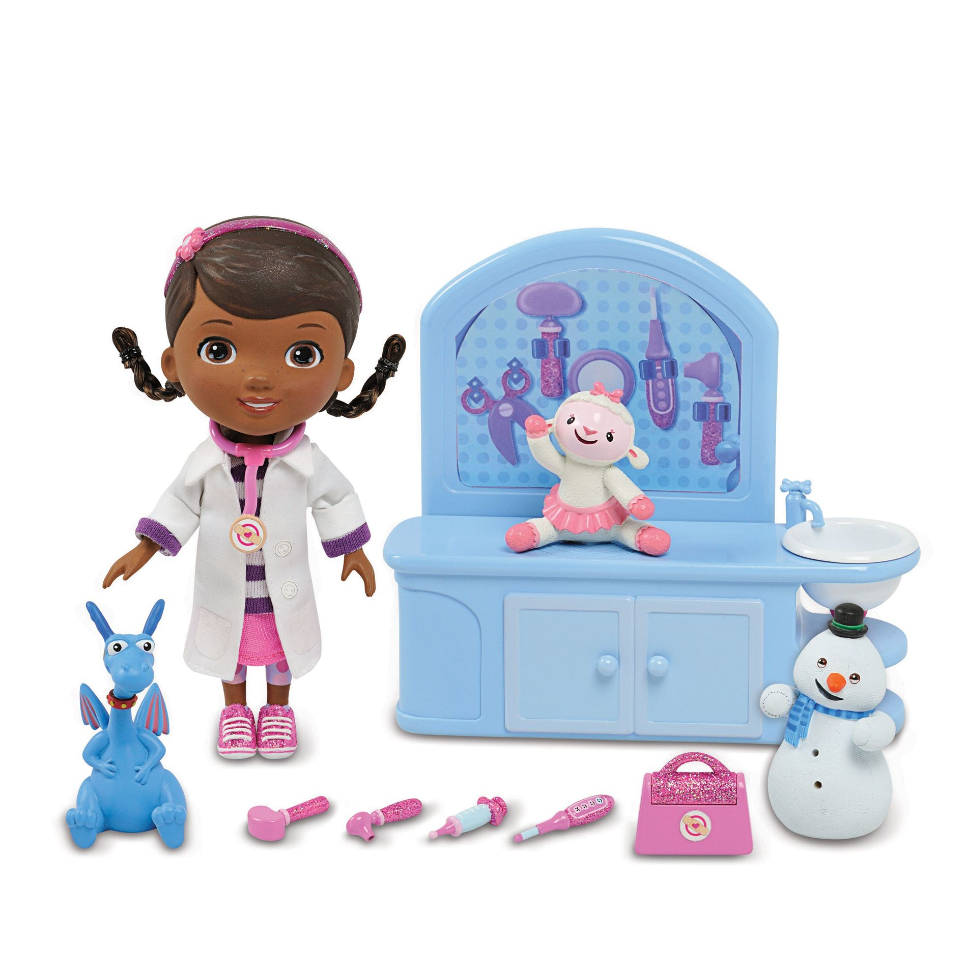 Doc McStuffins - Magic Talking Set