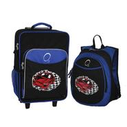 O3 USA Kids Luggage / Suitcase and Backpack Set With Integrated Cooler - Racecar at Kmart.com