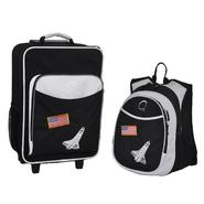 O3 USA Kids Luggage / Suitcase and Backpack Set With Integrated Cooler - Space at Kmart.com