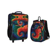 O3 USA Kids Luggage / Suitcase and Backpack Set With Integrated Cooler - Tie Dye at Kmart.com