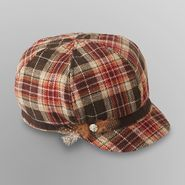 Joe Boxer Women's Cabbie Hat - Plaid at Kmart.com