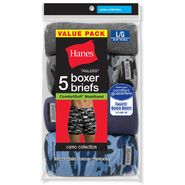 Hanes Men's Boxer Briefs 5 Pk Camo Collection Tagless at Kmart.com