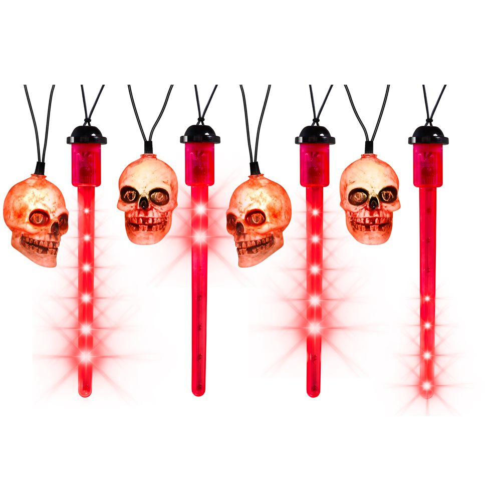 Halloween Set 8 Red LED Blood Drip Lights