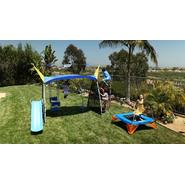 Ironkids Premier 650 Complete Fitness Playground Swing Set with Protective  Sunshade and Refreshing Mist at Kmart.com