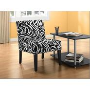 Jaclyn Smith Accent Chair Zebra at Kmart.com