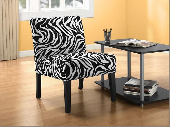 Accent Chair Zebra