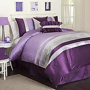 Lush Decor Jewel Purple 5-pc Comforter Set Twin Juvy at Kmart.com