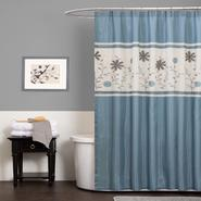 Lush Decor Monica Blue Shower Curtain at Kmart.com