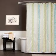 Lush Decor Aria Blue/Green Shower Curtain at Kmart.com