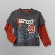 Route 66 Infant Boy's Layered Look T-Shirt - Train at Kmart.com