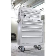 Viper Tool Storage White 26-Inch 8 Drawer 18G Heavy-Du...