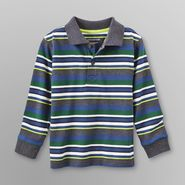 WonderKids Infant & Toddler Boy's Long-Sleeve Shirt - Striped at Kmart.com