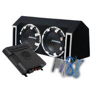 "Audiobahn AMPP210H Dual 10"" Murdered Out Party Pack System 1200 Watts Achievable Power at Sears.com"
