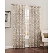 Simply Window Eva Grommet Curtain Panel - Floral Print at Sears.com