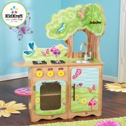 Kidkraft Fairy Woodland Kitchen at Sears.com