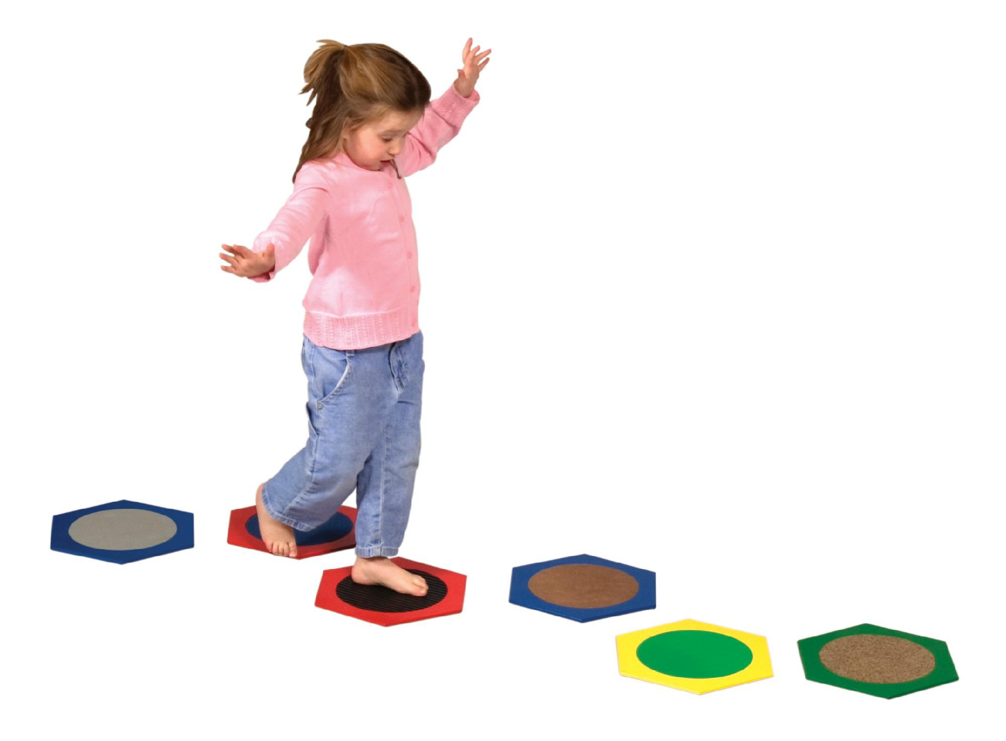 Guidecraft  Sensory Stepping Stones