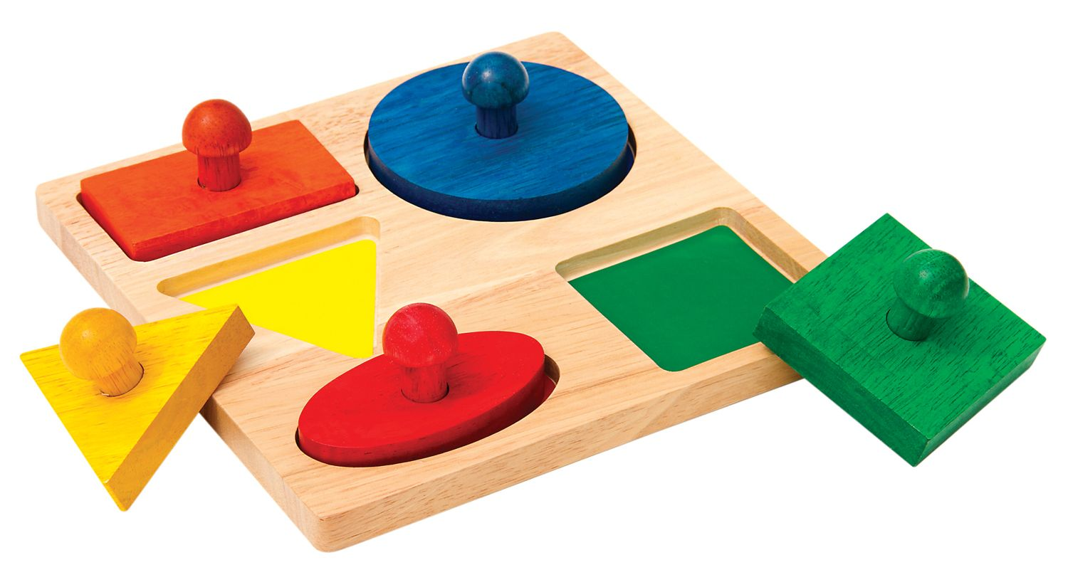 Image of Guidecraft GEO PUZZLE BOARD