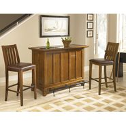 Home Styles Arts & Craft 3PC Bar Set-Bar & Two Stools  Distressed Oak Finish at Kmart.com