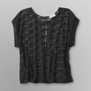 Dream Out Loud by Selena Gomez Junior's Lace Top - Metallic at Kmart.com