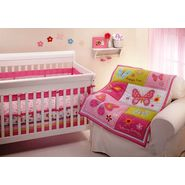 NoJo Butterfly Kisses 4pc Crib Set at Kmart.com