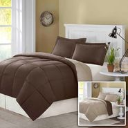 Comfort Classics Billings Comforter Mini Set in Brown at Kmart.com